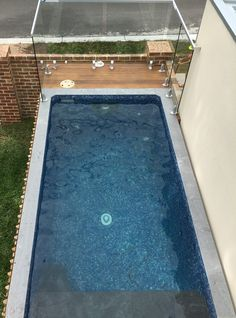 Top view Rectanlge Australian Plunge Pool