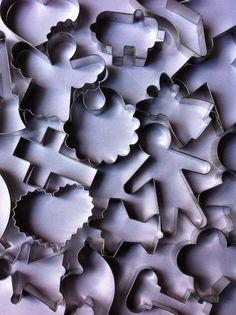 Algunos modelos sencillos de cortadores para galletas. Vea en este tablero todos los modelos de esta categoría.
