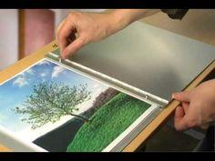 ▶ Screwpost Portfolio Books by portfolios-and-art-cases.com - YouTube