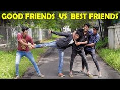 Good Friends Vs Best Friends Leelaigal   Laughing Soda - YouTube Best Friend Vs Friend, Best Friends, Friendship Songs, Laughing, All About Time, Soda, Baseball Cards, Videos, Youtube