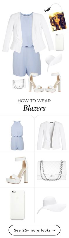 """Jumpsuit with blazer"" by shev-1 on Polyvore"