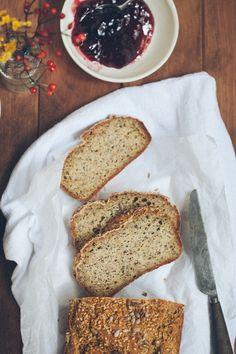 Hirse-Saaten-Sandwich-Brot (glutenfrei und vegan)