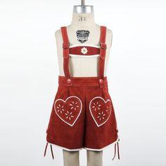 girl lederhosen