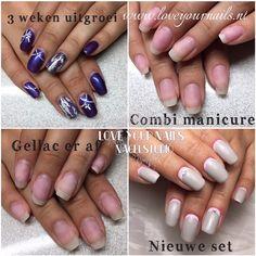 Nailart, cursus electrisch vijlen, combi manicure, short nails www.loveyournails.com