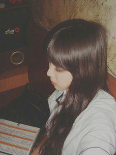 Ulzzang!♥ #ulzzang #korean #brown #hair