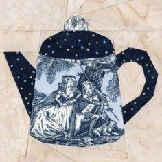 tea pot by Virginia Bobrow