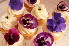 flowers and cupcakes Charli! Kinda was thinking something SOrta like this for mothers day. But not  on a cupcake