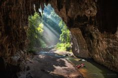 Tham Lod Cave in #Thailand. Photo by Drew Hopper.