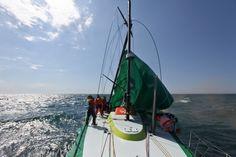 Dismasted at sea - Yann Riou/Groupama Sailing Team/Volvo Ocean Race
