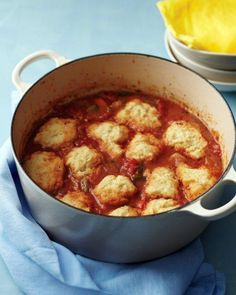 Father's Day Chicken with Cornmeal Dumplings Recipe