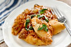 No Need to Boil Pasta with This Easy Instant Pot Stuffed Shells with Meat Sauce Recipe! Meat Sauce Recipes, Hamburger Meat Recipes, Slow Cooker Soup, Slow Cooker Recipes, Stuffed Shells With Meat, Herb Soup, Lasagna Ingredients, Best Instant Pot Recipe, Delicious Sandwiches