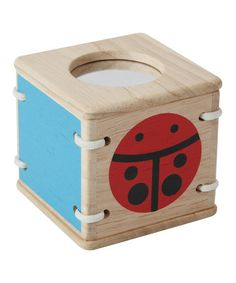 Take a look at this Baby's First Visual Block by PlanToys on #zulily today!