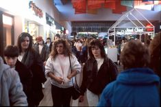 """[Moms at the Mall]   Photographer Michael Galinsky drove across the country in 1989 and shot about 30 rolls of film in malls across America. """"Waking Up In A Mall In The 80's With A Camera"""" Gallery"""