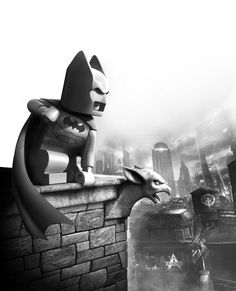 Lego Batman Arkham City Parody!