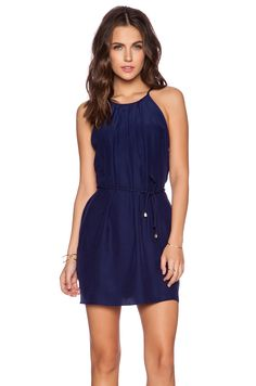 67fc9793fd1 Amanda Uprichard Perry Dress in Navy Light