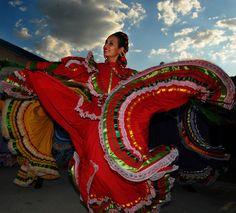 Vestidos De Baile Folklorico | How to Make a Folklorico Dance Skirt | eHow.co.uk