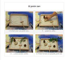 fabrication Diy Jardin Zen, Jardin Zen Miniature, Anxiety Girl, Deco Zen, Art Japonais, Miniatures, Frame, Fabric, Coins