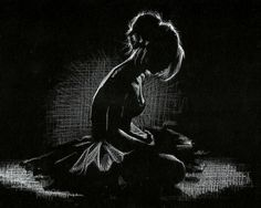 "Liam Dickinson Art on Twitter: ""More white pencil on black paper ..."