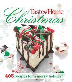 Amazon.com : holiday baking cookbook Thanksgiving Desserts Easy, Christmas Desserts, Christmas Cooking, Thanksgiving Ideas, Taste Of Home, Christmas Dinner Menu, Christmas Tea, Creative Desserts, Pumpkin Cheesecake