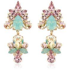ANTON HEUNIS Double Flower Earrings