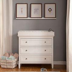 DaVinci Perse 3-Drawer Changer Dresser in White