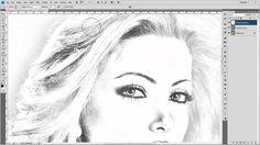 Cambio de imagen fotografica a Carboncillo en Photoshop