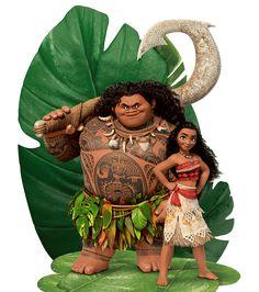 Moana and Maui Moana Party, Moana Themed Party, Disney Love, Disney Art, Moana Y Maui, Moana Printables, Moana Theme Birthday, Festa Moana Baby, Moana Film