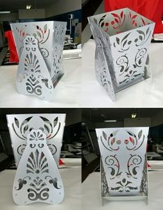 The vector file Laser Cut Decorative Vase Flower Box With Stand DXF File is AutoCAD DXF ( .dxf ) CAD file type, size is 447.45 KB, under flower, flowers, stand, vase vectors. Laser Cut Metal, 3d Laser, Laser Cutting, Free Vectors, Vector Free, Vases Decor, Plant Decor, Centre Table Design, Fire Pit Cooking