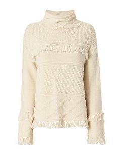 Line EXCLUSIVE Demsey Fringe Sweater