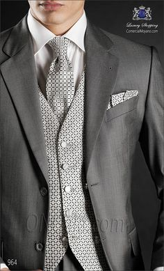 Traje de novio gris 964 ONGala Wedding suit