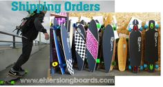 Ehlers Longboards Shipping Orders #ehlerslongboards #ehlers #longboarding #longboard
