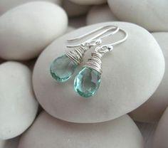 Aquamarine Quartz - women's jewellery