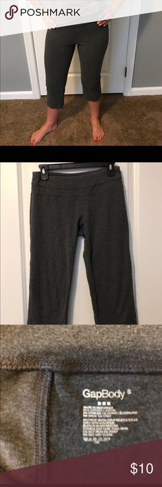Gap Body Yoga Pants Gray Gap Body Workout/Yoga Pants. Size small. Great for working out or lounging around the house. Comfy and stretchy! Smoke free, pet free home. GAP Other