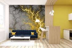 In the spicy power of nature Abstraction wallpaper mural Photo wallpapers Demural
