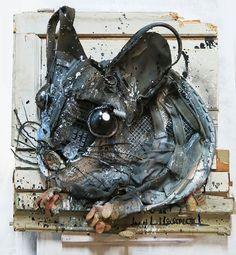 Artista português transforma lixo em incríveis obras de arte urbanas   Tá Bonito