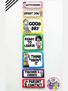STEM Behavior Chart (STEAM Clip Chart) | This STEM/STEAM behavior chart will look fabulous in your STEM/STEAM classroom! Print, laminate and arrange this behavior chart on your bulletin board or wall. Grab this today on Teachers Pay Teachers!