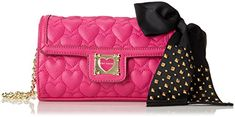 Betsey Johnson Be My Sweetheart BJ34405 Cross BodyPinkOne Size -- Check out this great product.