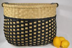 Large Storage Basket with Twill Weave and от BrightExpectations
