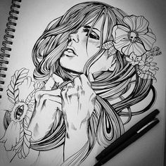 Love these drawings. #tattoo #tattoos #ink