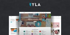 Ryla - Multipurpose Single/Multi Page WordPress Theme