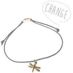 CHANGE - lucky charm bracelet