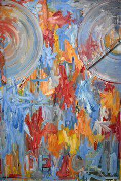 #JasperJohns Device, 1961-1962  Dallas Dyer Museum of Art #ArtEverywhereUS Art © Jasper Johns/Licensed by VAGA, New York, NY  Follow #JasperJohns on Pinterest curated by Joseph K. Levene Fine Art, Ltd.  |  JKLFA.com  |  http://pinterest.com/jklfa/jasper-johns/