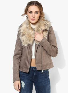 Bellfield Biker Jacket online available on koovs.com | jackets for ...