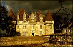 Monbazillac Chateau, Dordogne, France