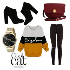 A fashion look from November 2015 featuring Giuseppe Zanotti ankle booties, The Code shoulder bags and Skagen watches. Browse and shop related looks.
