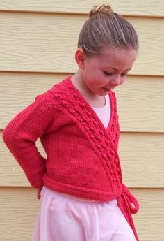 Ballet Cardigan Knitting Pattern : 1000+ images about Knitting on Pinterest Ravelry, Ballet and Pattern library