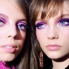 Le fard violet de Pat McGrath pour Anna Sui