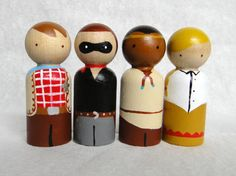 Hey, I found this really awesome Etsy listing at http://www.etsy.com/listing/161873866/cowboy-and-indian-peg-doll-set-the