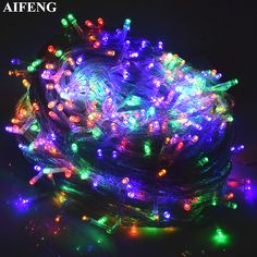 5m 40 Bulbs Snowflake Garlands Led Christmas Lights Outdoor Holiday String Lights Decoration For Garden Christmas Lighting Refreshing And Beneficial To The Eyes Led String