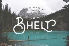 Bhelt Typeface by Angkalimabelas on @creativemarket